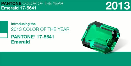 Pantone Emerald - Colore anno 2013