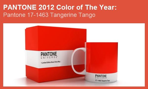 Pantone Tangerine Tango - Colore Anno 2012