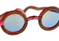 Occhiali in legno e poliuretano ab denizel