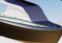 wikipedia - image of Motoryacht NURBS modelling